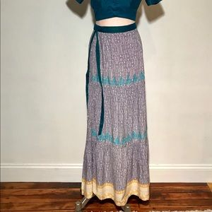 High Waisted Mermaid Skirt with Crop Top!